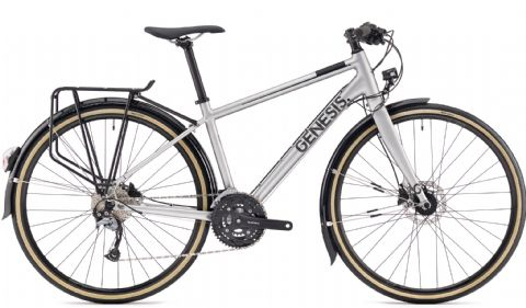 Genesis Skyline 30 Urban Bike Silver 2018